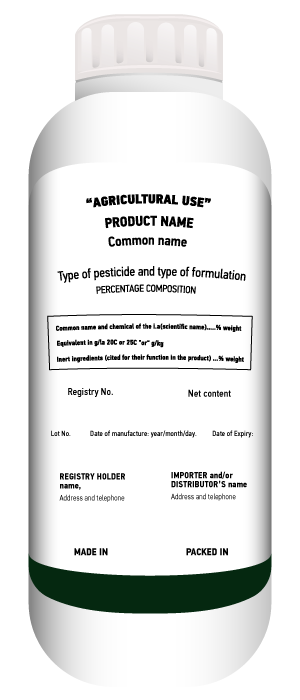 I do read the labels and safety sheets of the pesticides or